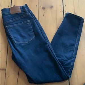 """Madewell Jeans 10"""" High Rise Skinny Fit"""